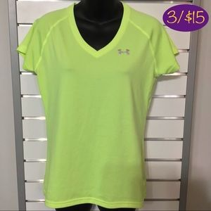 Under Armour Semi-Fitted Heat Gear Tech Tee